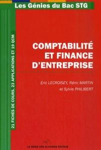 Comptabilité et Finance d'Entreprise