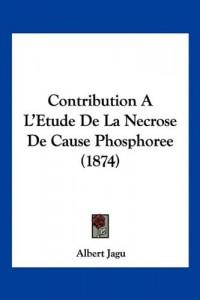 Contribution A L'Etude de La Necrose de Cause Phosphoree (1874)