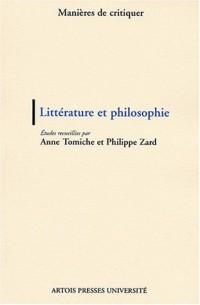 Littérature et philosophie