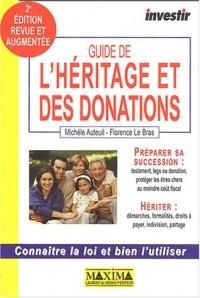 Guide de l'héritage et des donations
