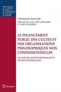 Le financement public des cultes et des organisations philosophiques non confessionnelles