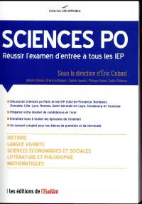 L'Officiel Sciences Po - Réussir l'examen d'entrée à tous les IEP