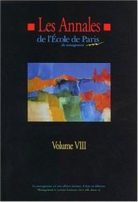 Les Annales de l'Ecole de Paris du management : Volume 8, Travaux de l'année 2001