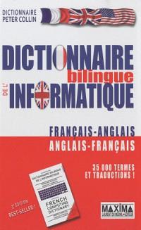 Dictionnaire de l'informatique français-anglais 4ed