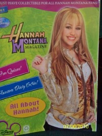 Disney Hannah Montana Activity Magazine Issue 1