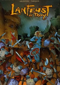 Lanfeust de Troy : Coffret en 4 volumes : Tome 1, L'ivoire du Magohamoth ; Tome 2, Thanos l'incongru ; Tome 3, Castel Or-Azur ; Tome 4, Le paladin d'Eckmül : Edition en couleurs