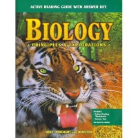 Biology - Active Reading Guide with Answer Key (Principles adn Explorations)