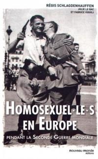 Homosexuel.le.s en Europe pendant la Seconde Guerre mondiale