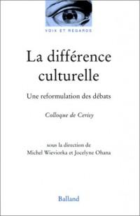 La différence culturelle