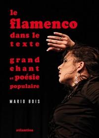 Le flamenco dans le texte