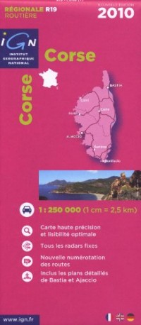 Corse : 1/1 000 000