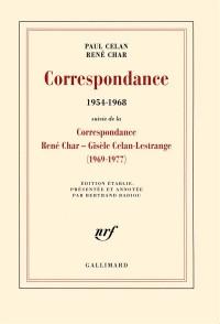 Correspondance: (1954-1968)