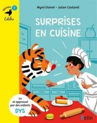 Surprises en cuisine - Niveau 1