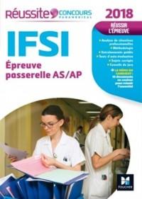 Réussite Concours IFSI Passerelle AS/AP - Examen 2018 Nº18