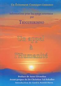 Un appel à l'humanité