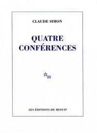 Quatre conférences