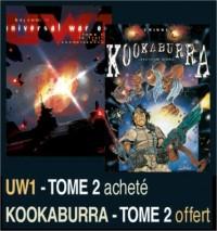 Kookaburra, Tome 2, Secteur WBH3 ; Universal War One, Tome 2, Le Fruit de la connaissance : Pack en 2 volumes