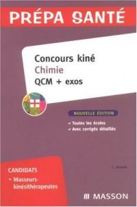 Concours kiné chimie : QCM + Exos