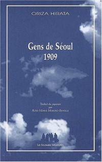 Gens de Séoul 1909