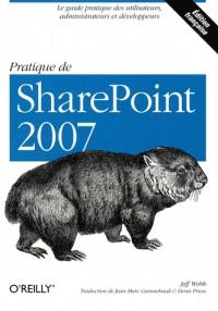 Pratique de SharePoint 2007