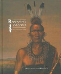 RENCONTRES INDIENNES - PEINTURES D'ANTOINE TZAPOFF