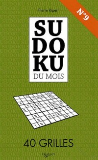 Sudoku du mois N° 9 : 40 Grilles