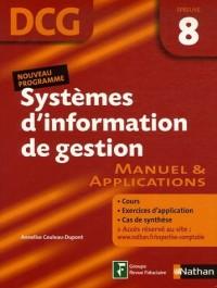 Systèmes d'Information de gestion Epreuve 8 - DCG - Manuel et applications