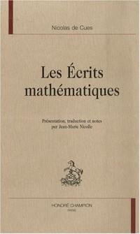 Les écrits mathématiques
