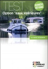 Code Rousseau test eaux intérieures 2018