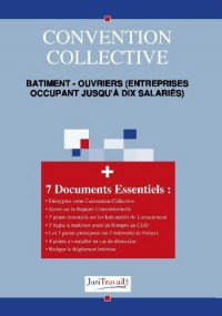 3193. Bâtiment - ouvriers (entreprises occupant jusqu'à dix salariés) Convention collective