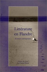 Littérature en Flandre : 33 auteurs contemporains