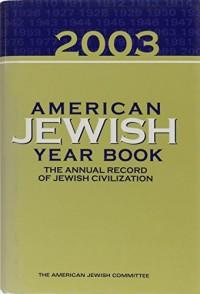 American Jewish Year Book 2003