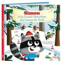 Simon le raton et le marathon des rennes de Noel (grand format)