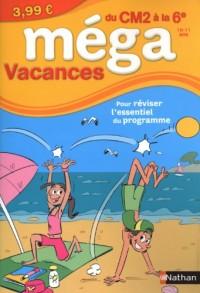 Méga Vacances du CM2 à la 6e : 10-11 ans