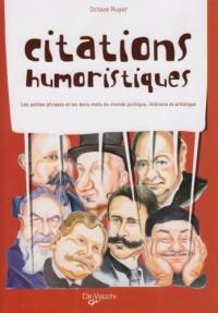 Citations humoristiques