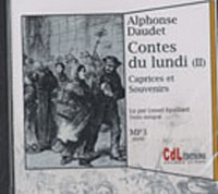 Contes du Lundi T2 MP3 3 CD