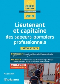 Lieutenant et capitaine des sapeurs-pompiers professionnels
