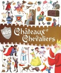 400 Autocollants - Châteaux et chevaliers