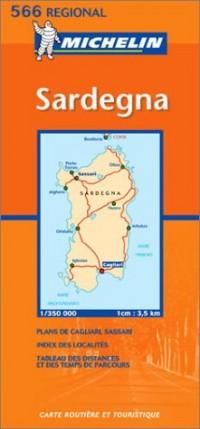 Carte routière : Sardegna, N° 11566 (en italien)