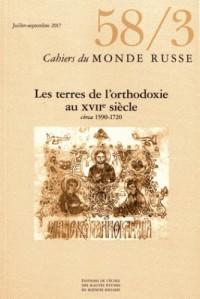 Cahiers du Monde Russe 58/3