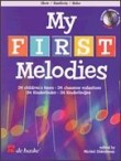 MY FIRST MELODIES BK/CD OBOE VERY EASY