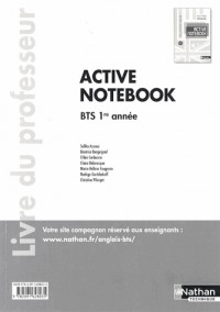Active Notebook  Bts Première Annee >B2  (Galee)  Professeur  2013