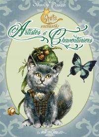 Chats enchantés - Artistes et Chaventuriers