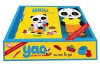 Petit panda va sur le pot : Avec une peluche