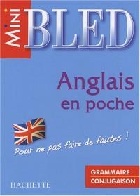 Anglais en poche