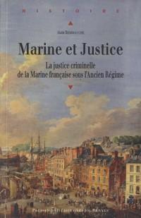 Marine et Justice : La justice criminelle de la Marine française sous l'Ancien Régime
