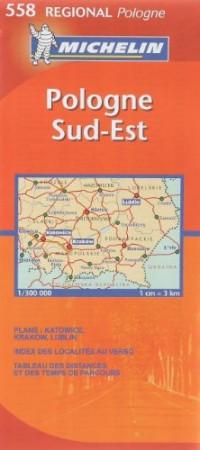 Pologne Sud-Est : 1/300 000
