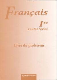 Livre du professeur français 1re