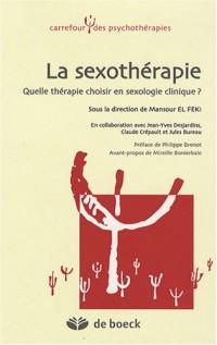 La sexothérapie : Quelle thérapie choisir en sexologie clinique ?