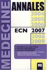 Annales ECN 2007